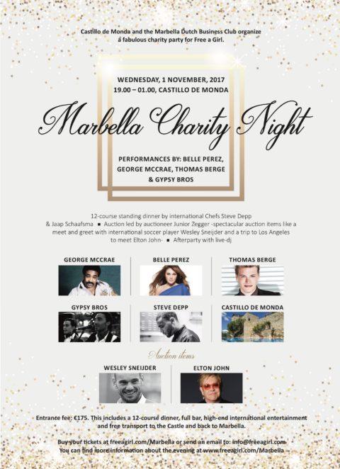 Charity Event for Free a Girl in Castillo de Monda